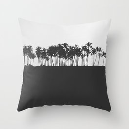 Half Roasted Throw Pillow