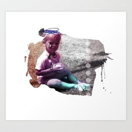 TEARDROP// Art Print