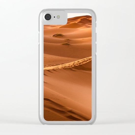 Desert landscape. Sahara Clear iPhone Case
