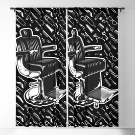 Barber Chair Style Blackout Curtain