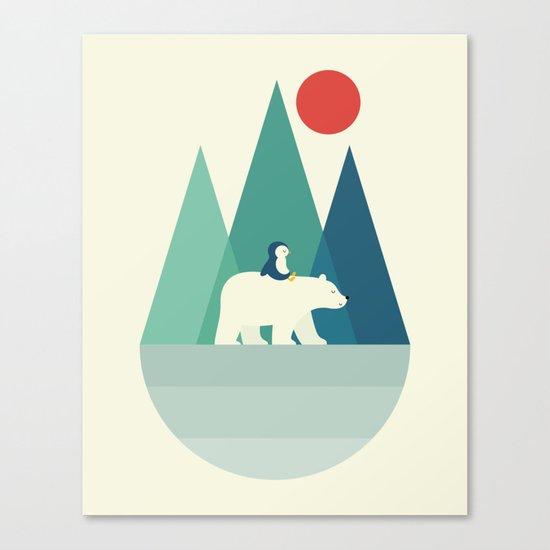 Bear You Canvas Print