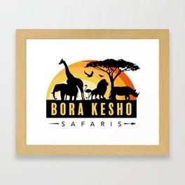 Bora Kesho Safaris Framed Art Print