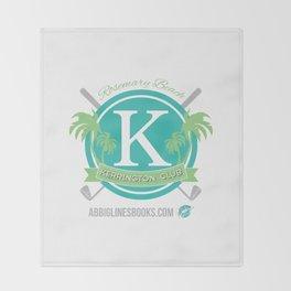 Rosemary Beach Kerrington Club Throw Blanket