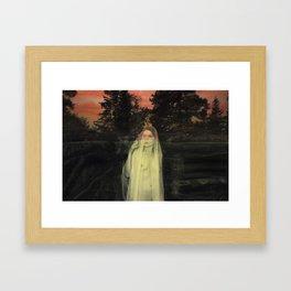 The Westering Sun Framed Art Print