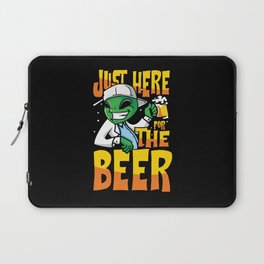 Just here for beer Laptop Sleeve