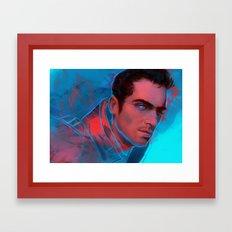 Mass Effect - Kaidan Framed Art Print