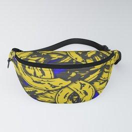 Banana Rama Blue Fanny Pack