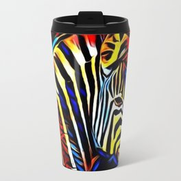 RainbowZebra Glow Travel Mug
