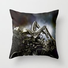 DOLLS - Motorgasm Throw Pillow