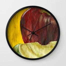 Apple Study 1 Wall Clock