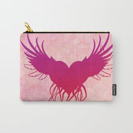 Give wings to my heart Carry-All Pouch