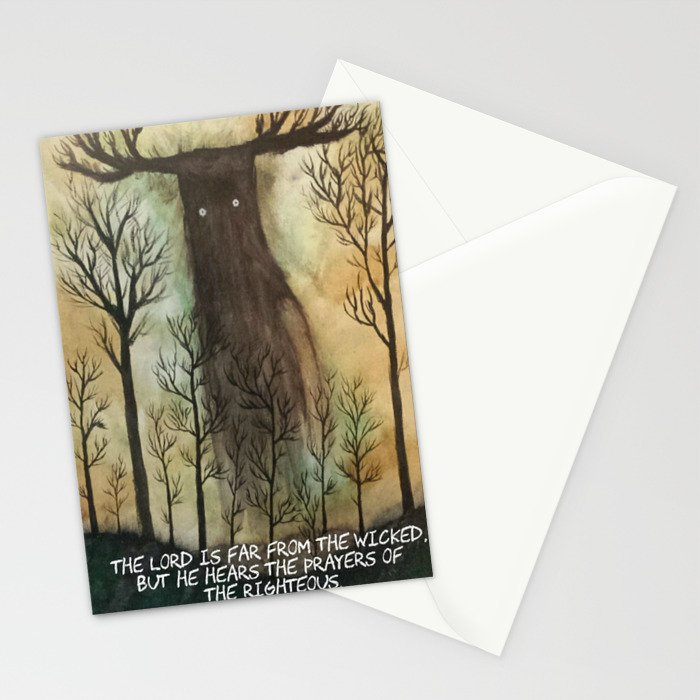 Far From the Wicked Stationery Cards