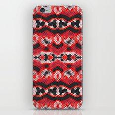 Montana Stripe - Cherry iPhone & iPod Skin