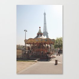 Merry-Go-Round Canvas Print