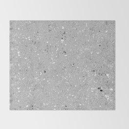 Gray Shine Texture Throw Blanket