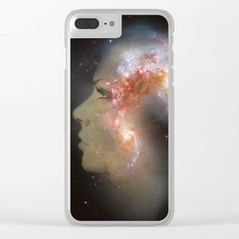 The Antennae Galaxies Clear iPhone Case