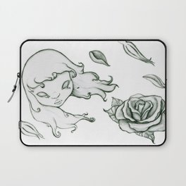 Rose in the wind Laptop Sleeve