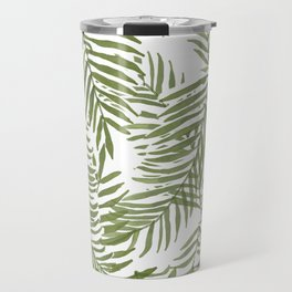 Areca Palm Pattern Travel Mug