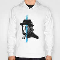 jack white Hoodies featuring Jack White by nufertity
