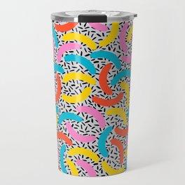 I Love Memphis Patterns Travel Mug