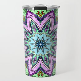 Flower mandala Travel Mug