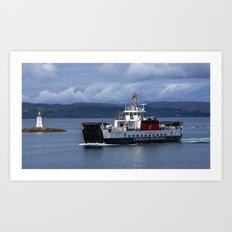 MV Loch Bhrusda Art Print