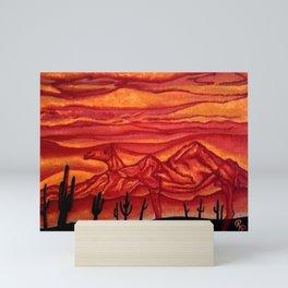 Camelback Mountain Phoenix, AZ Mini Art Print