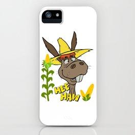 Hee Haw Donkey Vintage iPhone Case