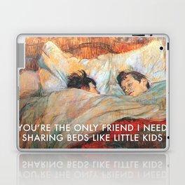 Sharing Beds Laptop & iPad Skin