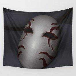 Kabuki Mask Wall Tapestry