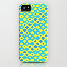 Brain Coral Blue Banded Small Polyps - Coral Reef Series 027 iPhone Case