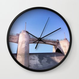 Sepulveda Dam Wall Clock