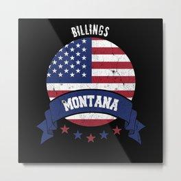 Billings Montana Metal Print