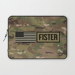 Fister (Camo) Laptop Sleeve