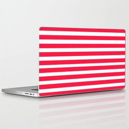 Red Lines Laptop & iPad Skin