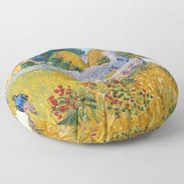 Vincent Van Gogh - Farmhouse in Provence Floor Pillow