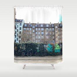 Homes, Vesterbro, Copenhagen Shower Curtain