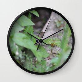 Peek-A-Boo, Mousie Wall Clock