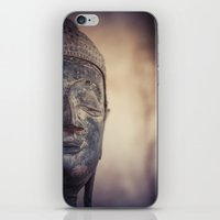 buddhism iPhone & iPod Skins featuring Buddha in Haw Phra Kaew, Laos by Maria Heyens