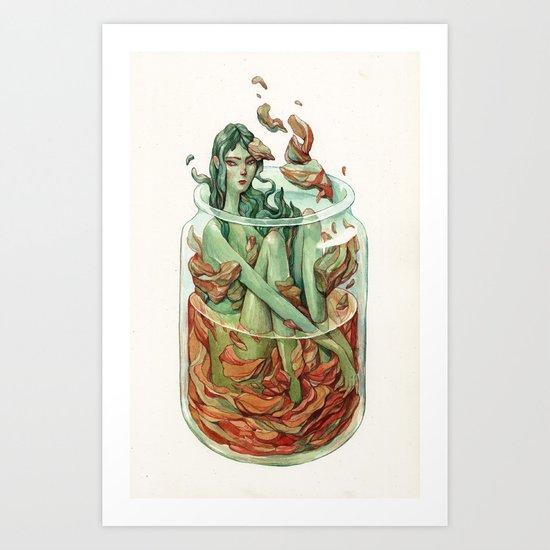 Kimchi Art Print