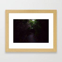 Sneak Off Often Framed Art Print