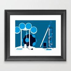 AXOR Systems - Room #2 Framed Art Print