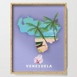 Venezuela map Serving Tray