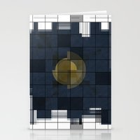 square Stationery Cards featuring Square by thinschi