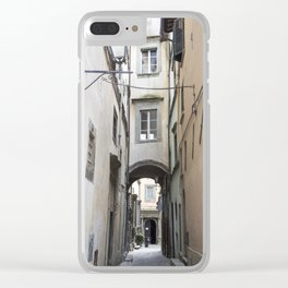Cortona Alley Clear iPhone Case