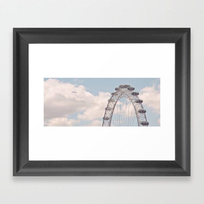 wheely small plane... Framed Art Print