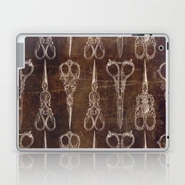 Steampunk Scissors Laptop & iPad Skin