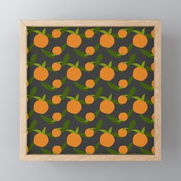 Mangoes in the dark Framed Mini Art Print