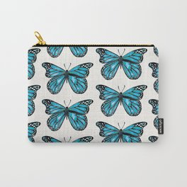 Blue Morpho Butterfly Carry-All Pouch