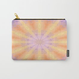 Let the Sun Shine Mandala Carry-All Pouch